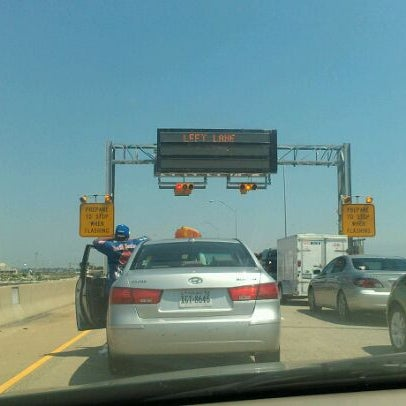 Photo taken at HRBT by Steve O. on 6/10/2012