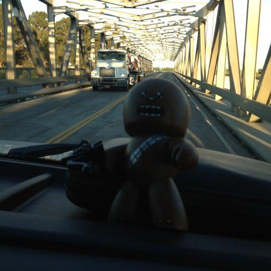 Photo taken at Rio Vista Bridge by Jessa V. on 7/4/2012