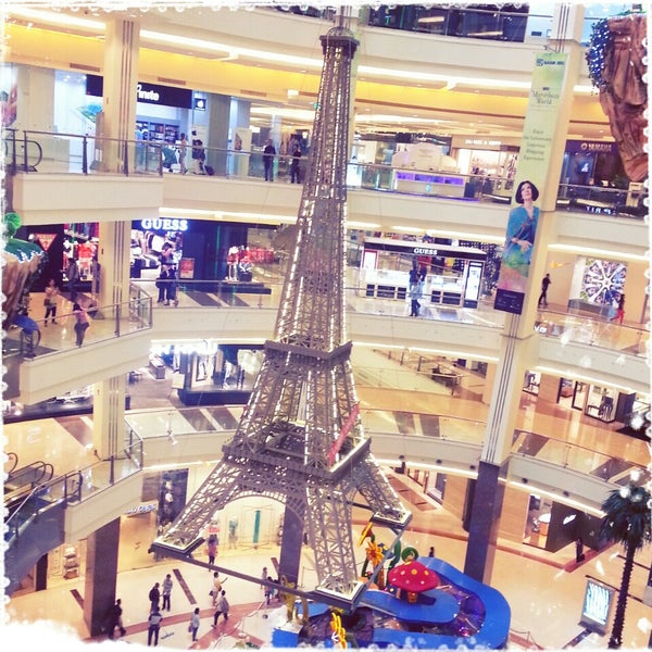 Photo taken at Pacific Place by Mira S. on 6/10/2013