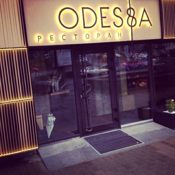 Снимок сделан в Ресторан ODESSA пользователем Dmit K. 7/23/2013