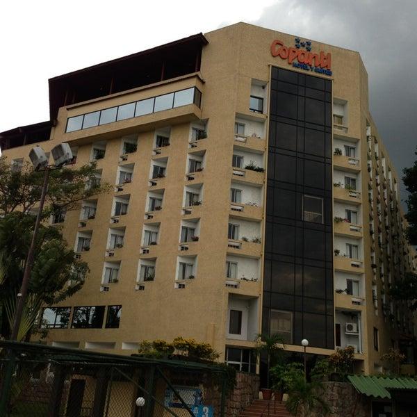Photo taken at Hotel Copantl by Jose E. on 6/1/2013