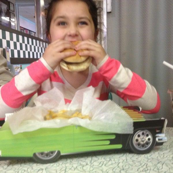Photo taken at Hub City Diner by Brandi V. on 3/13/2014