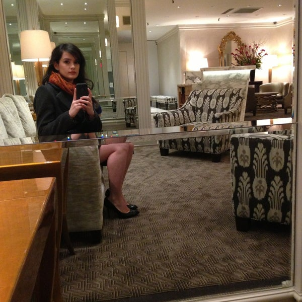 Photo taken at Lombardy Hotel by Kimberly V. on 2/21/2013