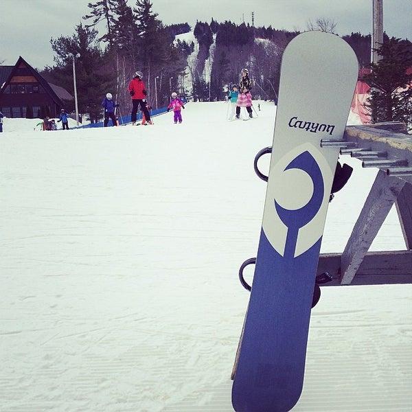 Photo taken at Pat's Peak Ski Area by Ed @wickedfundj on 3/8/2014