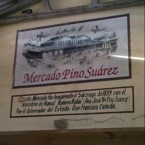 Foto diambil di Mercado Pino Suarez oleh Guillermo C. pada 1/17/2013
