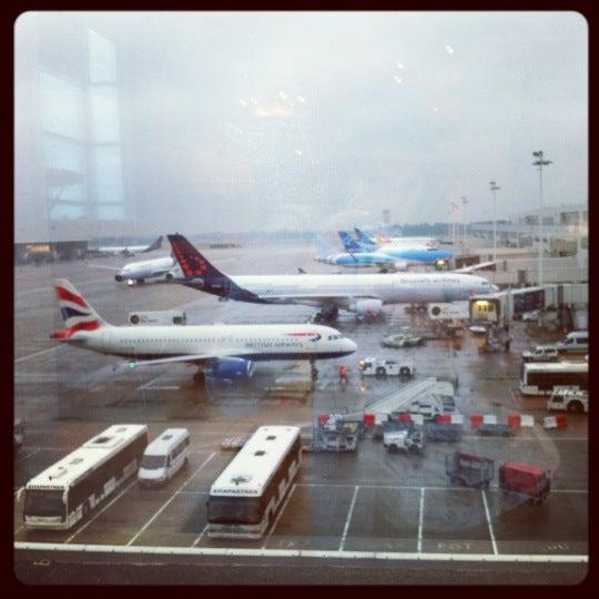 Снимок сделан в Брюссельский аэропорт (BRU) пользователем Laureline C. 6/28/2013