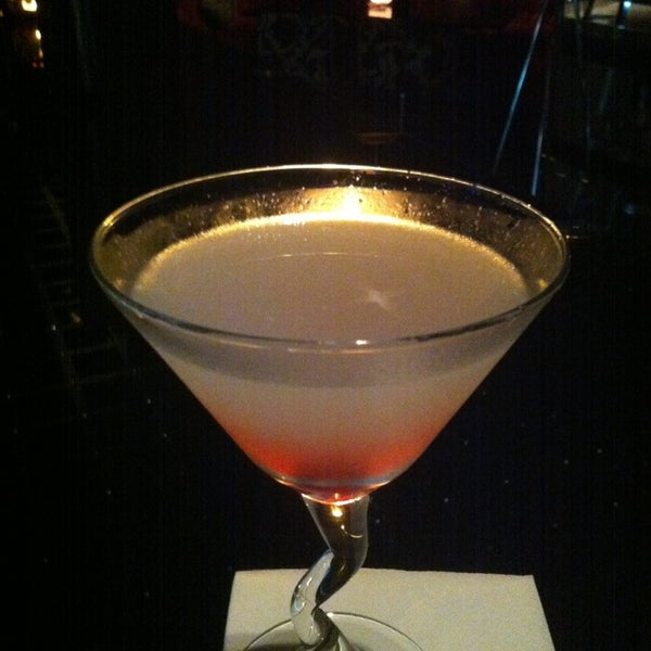 My fav cocktail An Aviation ...