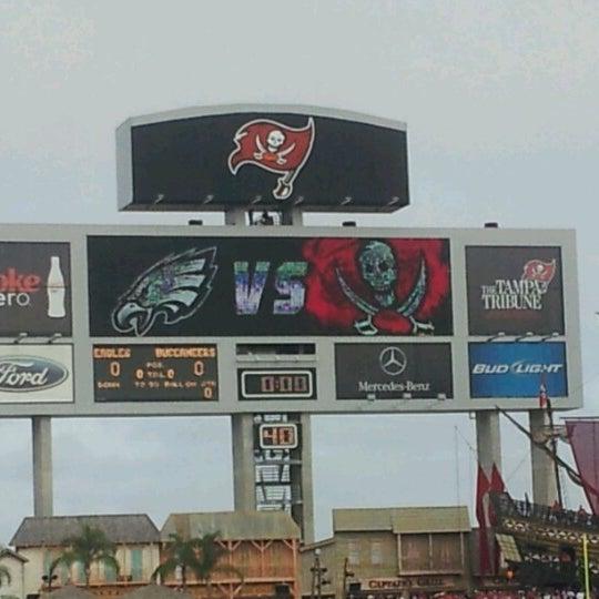 Photo taken at Raymond James Stadium by Robert H. on 12/9/2012