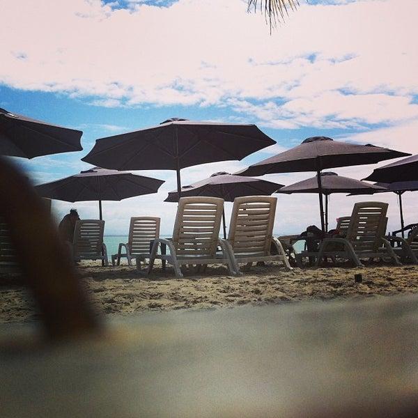 Photo taken at Playa El Yaque by Rob D. on 2/6/2013