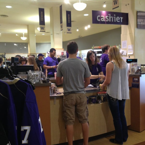 Photo taken at University Bookstore by Marcy S. on 8/31/2013