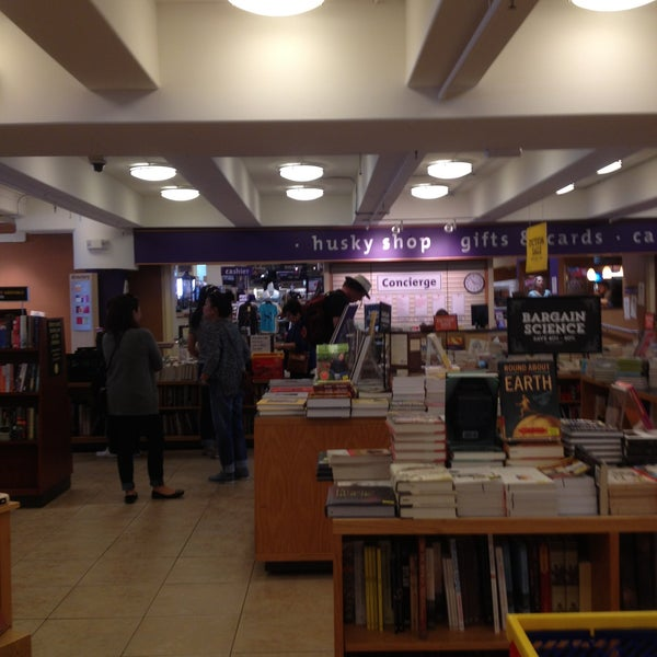 Photo taken at University Bookstore by Marcy S. on 5/19/2013