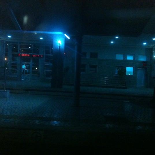 Photo taken at Gare de Mohammédia  محطة المحمدية by Saâd C. on 11/25/2012