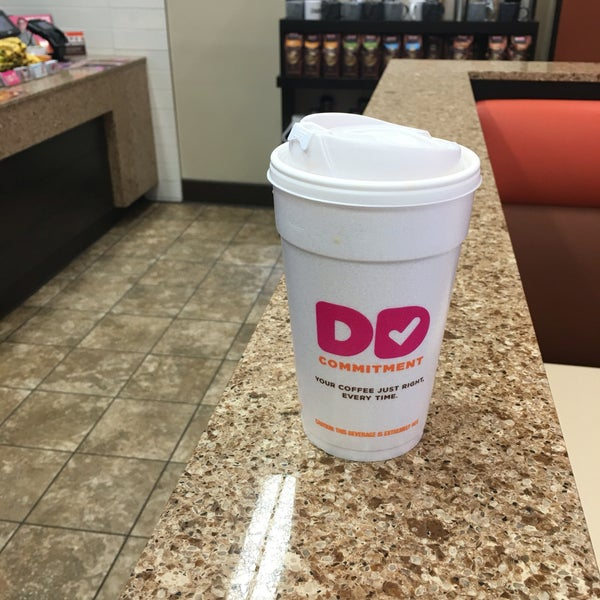 Photo taken at Dunkin Donuts by Matt Z. on 4/8/2016