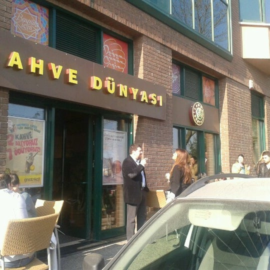 Das Foto wurde bei Kahve Dünyası von Umut D. am 11/27/2012 aufgenommen