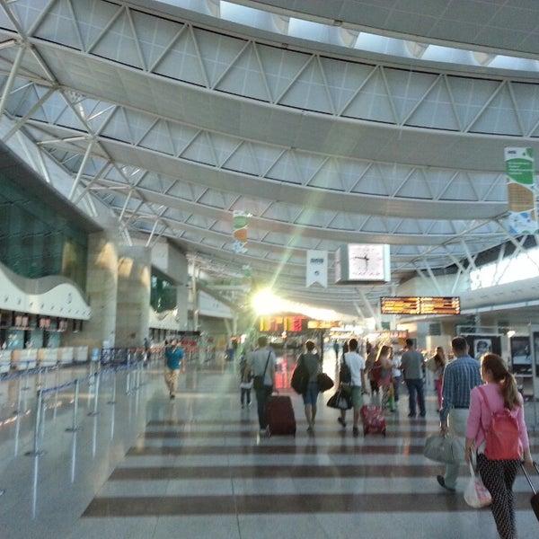 Photo taken at Ankara Esenboğa Airport (ESB) by Gökhan A. on 6/23/2013