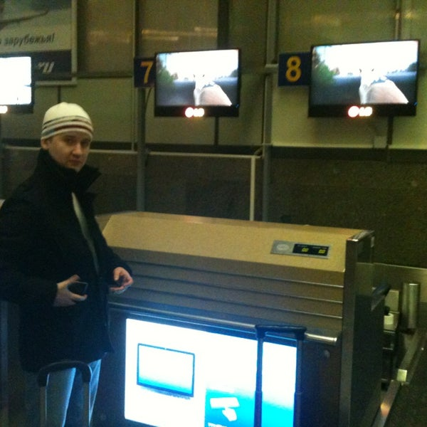 Photo taken at Check-in desk by Артем Д. on 1/16/2013