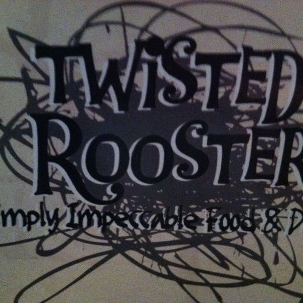 Photo taken at Twisted Rooster by Tiffany V. on 3/14/2013