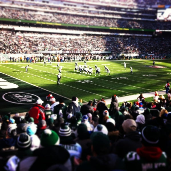 Photo taken at MetLife Stadium by Leah S. on 12/23/2012
