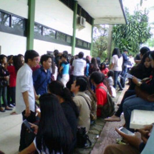 Photo taken at Institut Ilmu Sosial dan Ilmu Politik (IISIP) by Andika R. on 2/18/2013