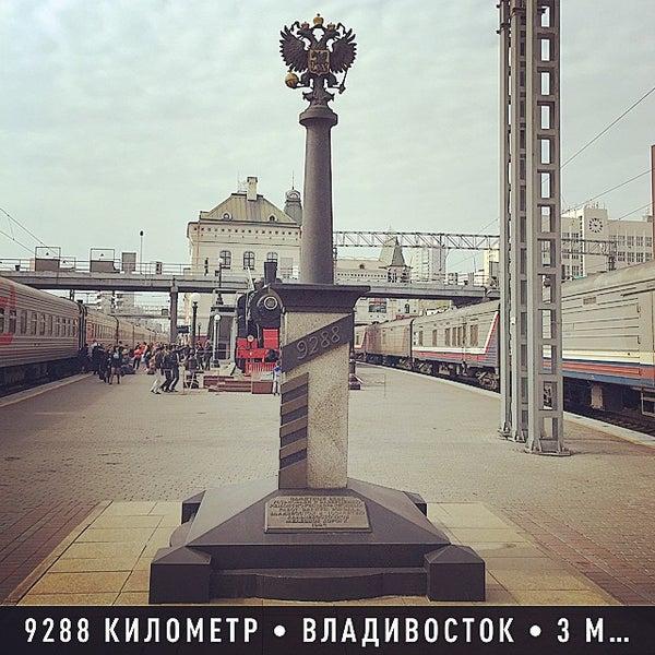 Photo taken at Железнодорожный вокзал Владивостока / Vladivostok Railway Station by Alex C. on 5/3/2015