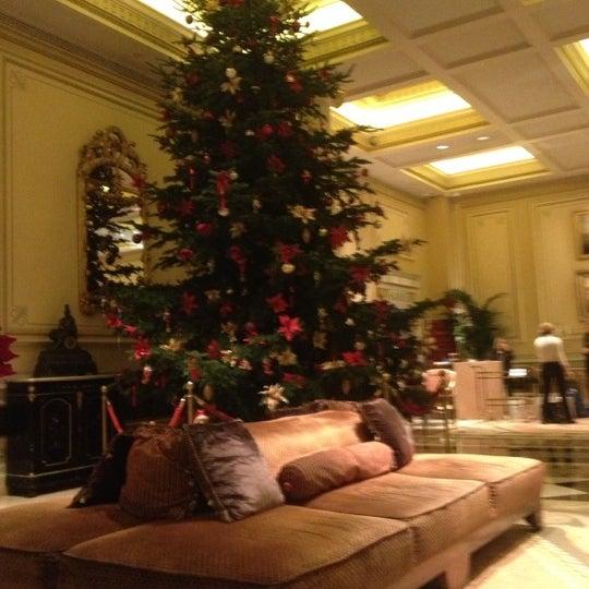 Photo taken at Hotel Grande Bretagne by Harris B. on 12/3/2012