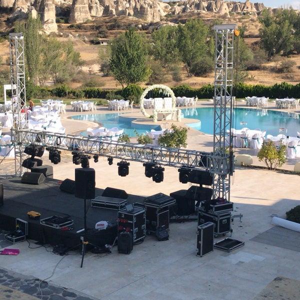 9/8/2018 tarihinde Hazal A.ziyaretçi tarafından Tourist Hotels & Resorts Cappadocia'de çekilen fotoğraf