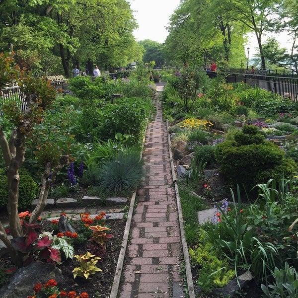 Photo Taken At Riverside Park   91st Street Garden By JW H. On 5/