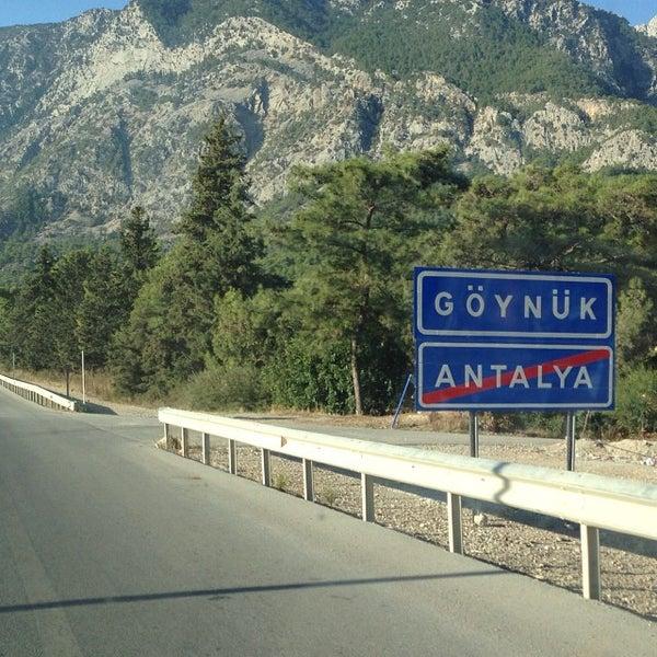 Photo taken at Beldibi by Filiz Sarıca F. on 10/16/2013