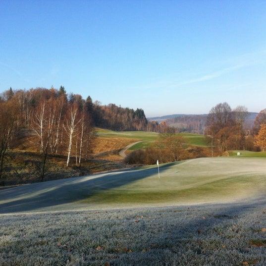 Photo taken at Ypsilon Golf Resort Liberec by Jan R. on 11/14/2012