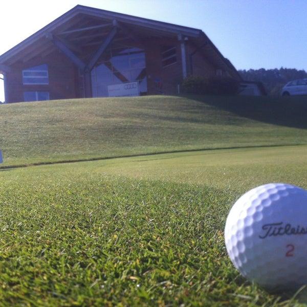 Photo taken at Ypsilon Golf Resort Liberec by Jan R. on 8/1/2013