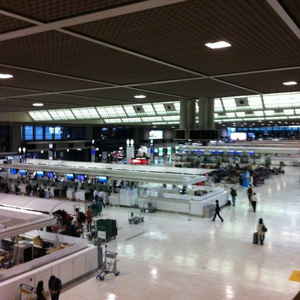 Photo taken at Narita International Airport (NRT) by Adam P. on 6/7/2013