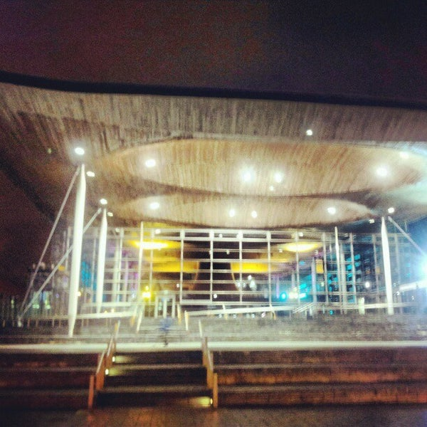 Photo taken at The National Assembly for Wales by Elio Assuncao D. on 11/7/2012