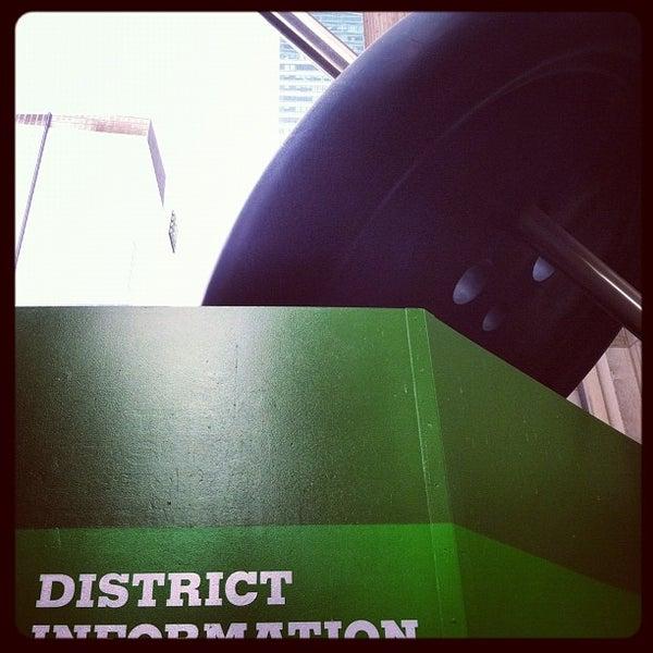 Photo taken at Garment District by Patrick D. on 10/27/2012