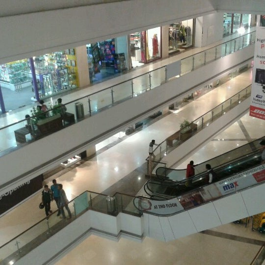 Photo taken at Kumar Pacific Mall by SABIR M. on 11/23/2012