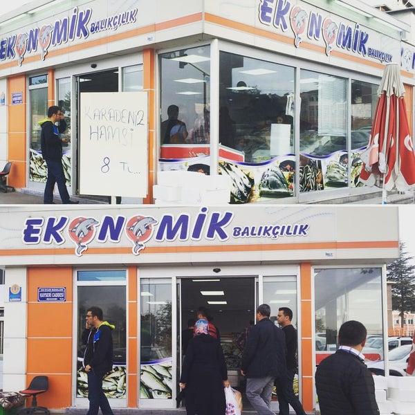 10/16/2015 tarihinde Murat Ç.ziyaretçi tarafından Ekonomik Balık Restaurant Avanos'de çekilen fotoğraf