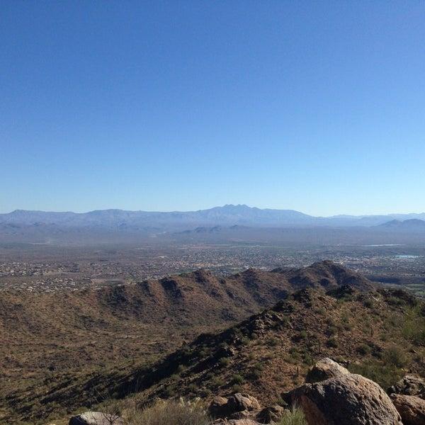 Photo taken at Sunrise Peak by Erin V. on 11/9/2013
