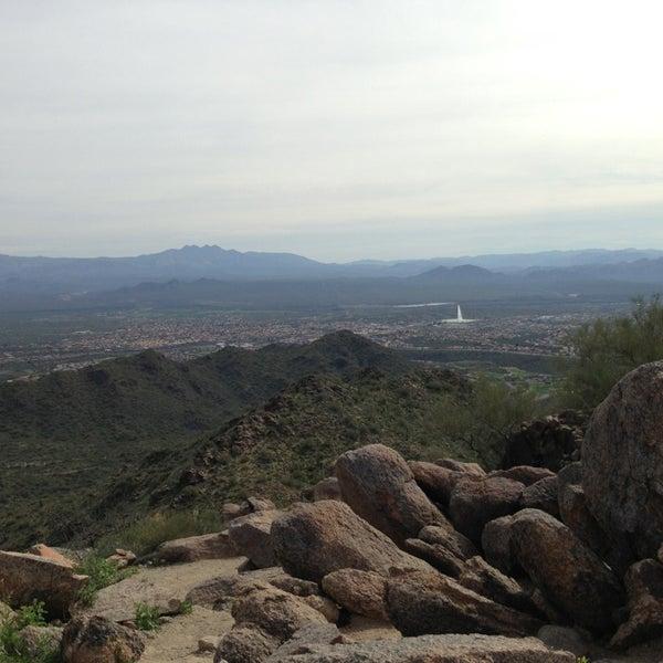 Photo taken at Sunrise Peak by Erin V. on 3/16/2013