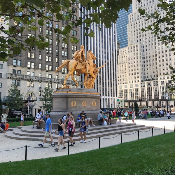 Photo taken at Grand Army Plaza by Wilson T. on 8/13/2017