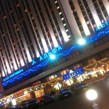 Снимок сделан в Измайлово «Альфа» пользователем Андрей К. 11/22/2012