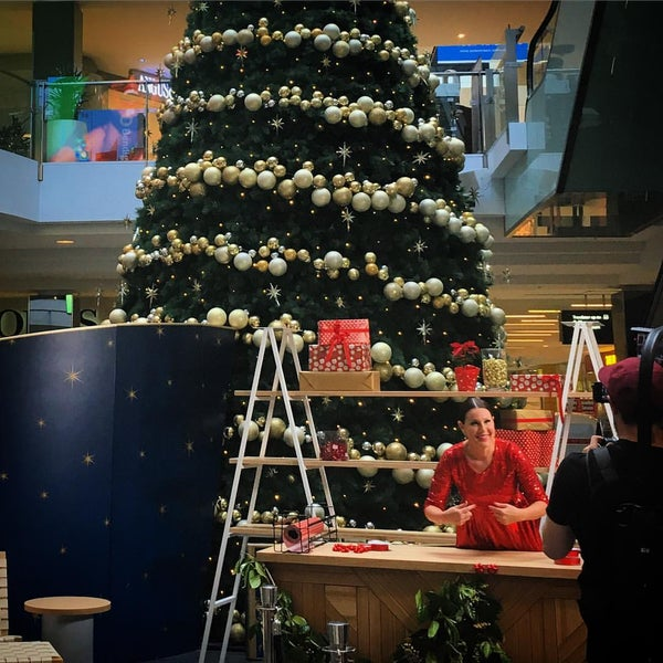 Photo taken at Westfield Southland by Renee D. on 12/8/2015