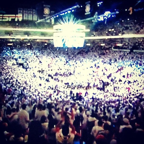 Photo taken at American Airlines Arena by Aicardo A. on 6/21/2013