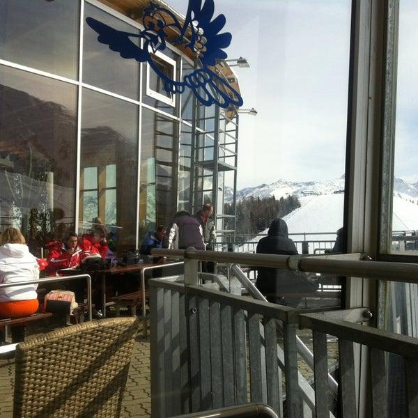 Das Foto wurde bei Panoramarestaurant Komperdell von Ol'ga T. am 2/26/2013 aufgenommen