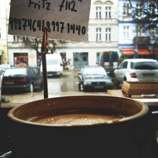 Снимок сделан в Bonanza Coffee пользователем Alek D. 1/10/2013