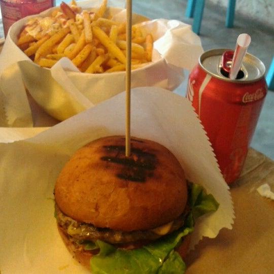 Photo taken at Biber Burger by Murat Y. on 12/2/2012