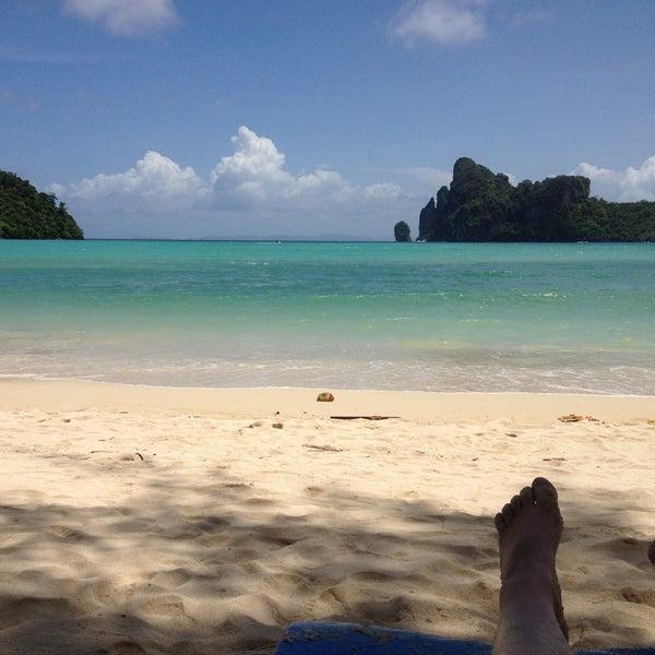 Photo taken at Phi Phi Island by Машулька Z. on 5/15/2013