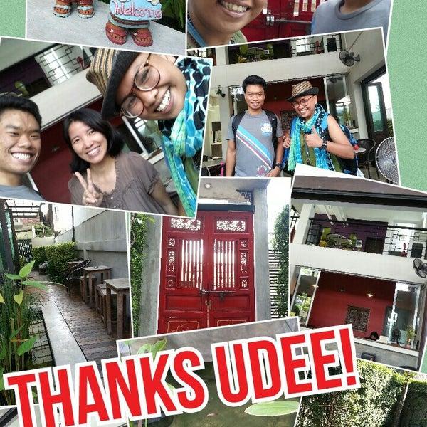 11/6/2014 tarihinde Ann K.ziyaretçi tarafından Udee Bangkok Hostel'de çekilen fotoğraf