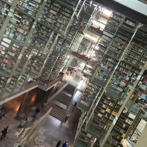 Photo taken at Biblioteca Vasconcelos by Alehandro C. on 2/23/2013