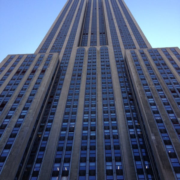 Empire state building 108th floor observation deck for House plans with observation deck