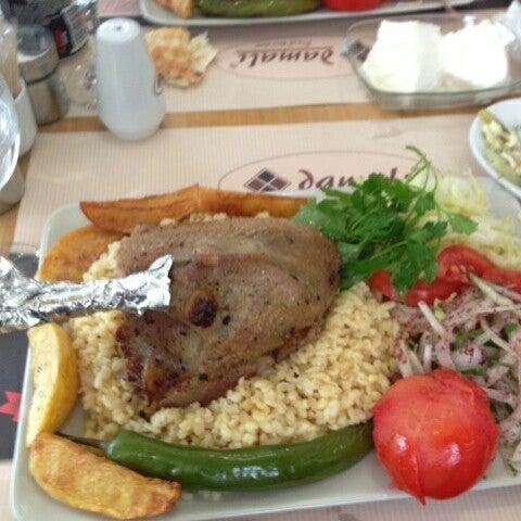 Photo taken at Damalı Restaurant by Yasar G. on 3/5/2014