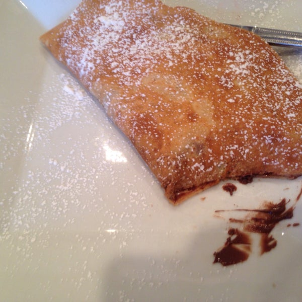 Nutella and banana crepe is incredible